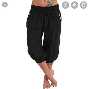 Diesel cropped harem pants